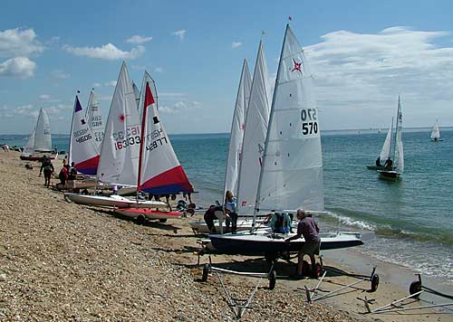 Sailing Club boats